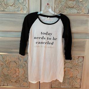 Forever 21 Black White Pajama Dress